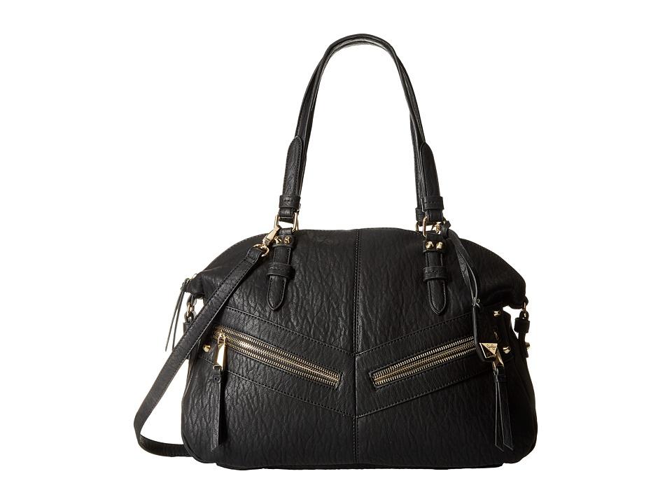 Jessica Simpson - Hudson Satchel (Black 1) Satchel Handbags