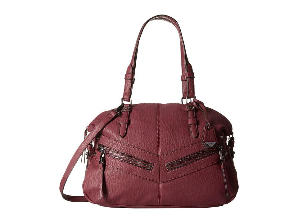 Jessica Simpson - Hudson Satchel (Maroon 1) Satchel Handbags