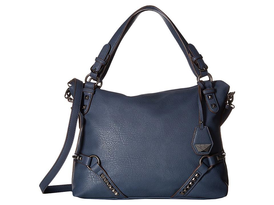 Jessica Simpson - Kiara Crossbody Satchel (Indigo) Satchel Handbags