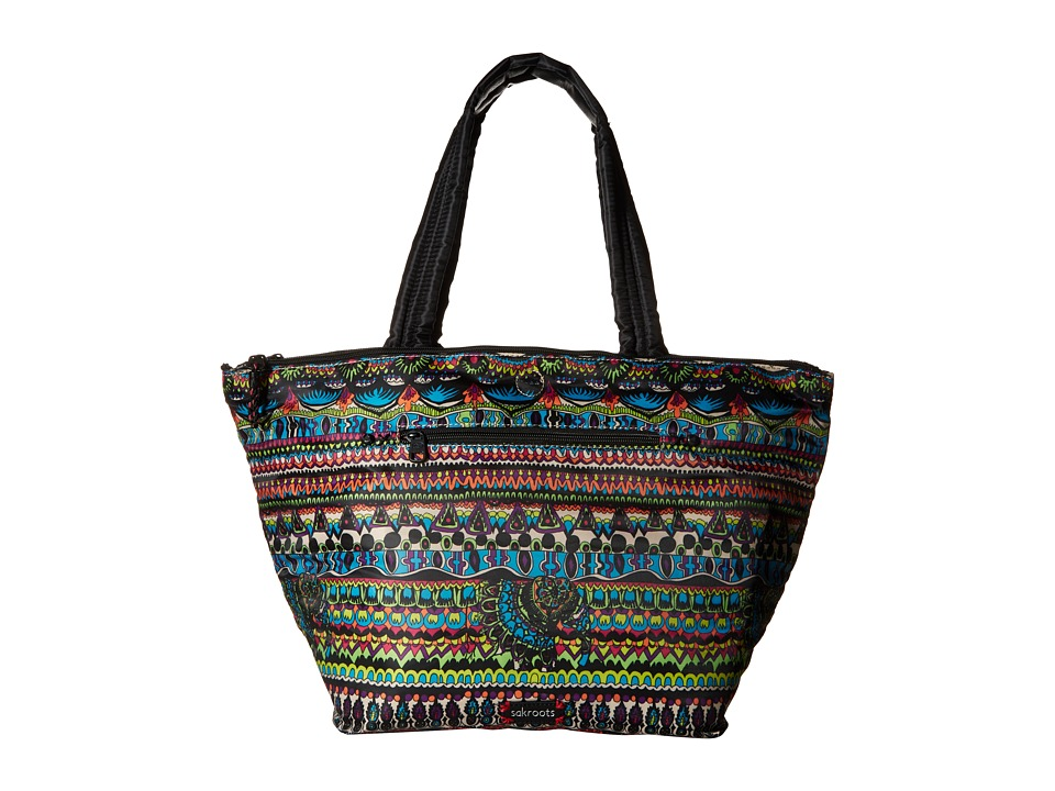 Sakroots - Artist Circle Kota Nylon Tote (Radiant One World) Tote Handbags