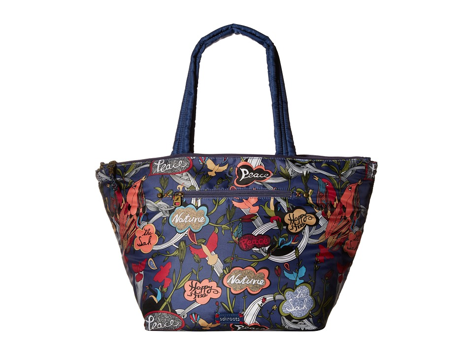 Sakroots - Artist Circle Kota Nylon Tote (River Peace) Tote Handbags