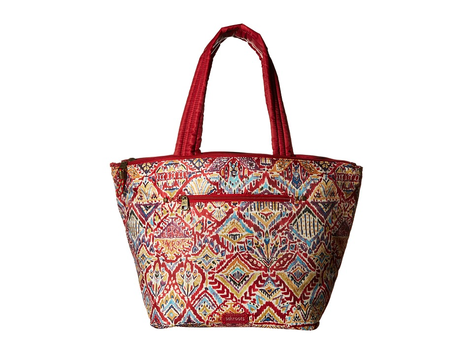 Sakroots - Artist Circle Kota Nylon Tote (Sweet Red Brave Beauti) Tote Handbags