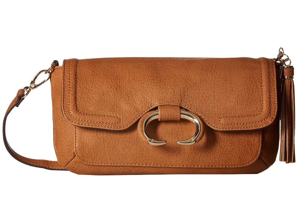 Jessica Simpson - Estelle Crossbody Clutch (Cognac) Clutch Handbags