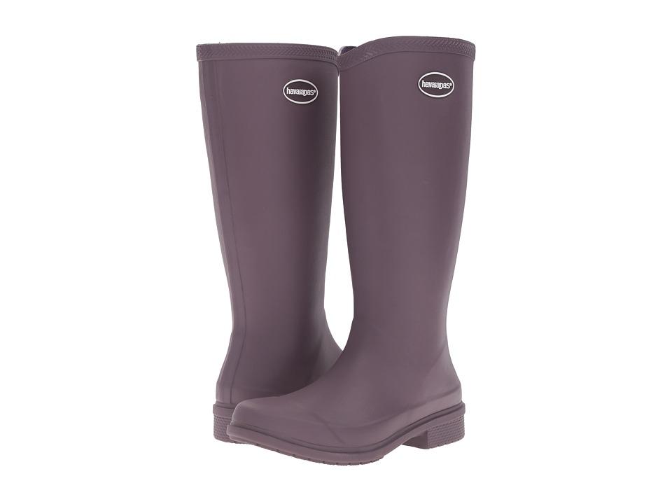 Havaianas Galochas Hi Matte Rain Boot (Purple) Women