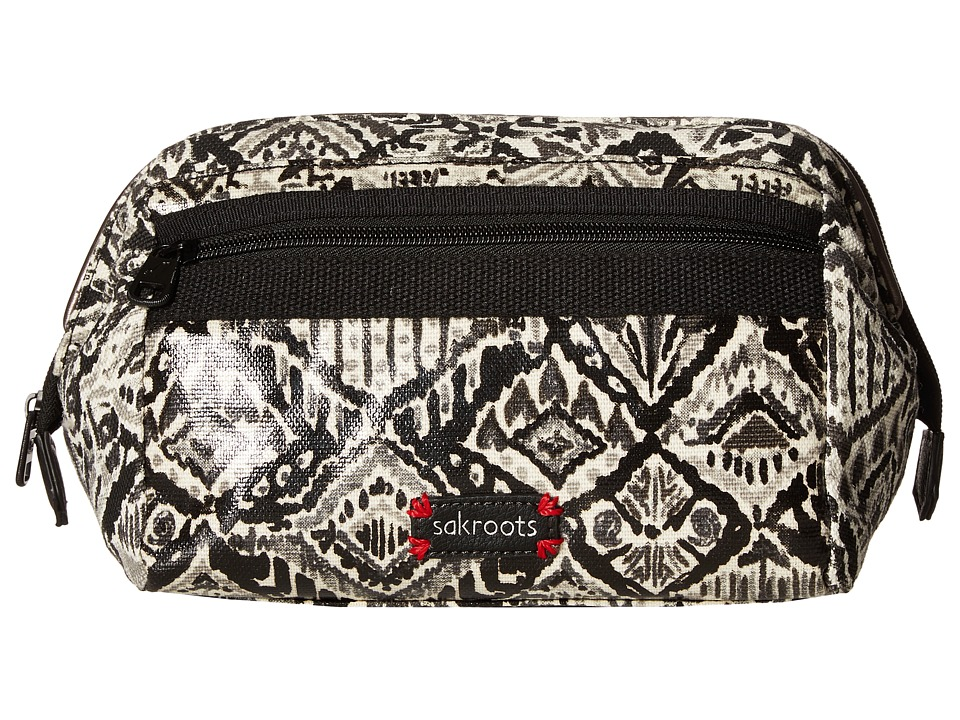 Sakroots - Artist Circle Carryall Cosmetic (Jet Brave Beauti) Cosmetic Case