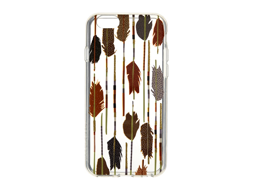 Vera Bradley - Flexible Frame Case for iPhone 6/6s (Feather Arrows) Cell Phone Case