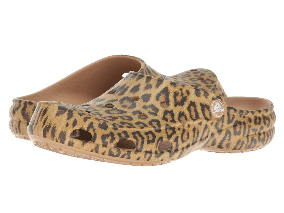 Crocs Freesail Graphic Clog (Leopard) Women