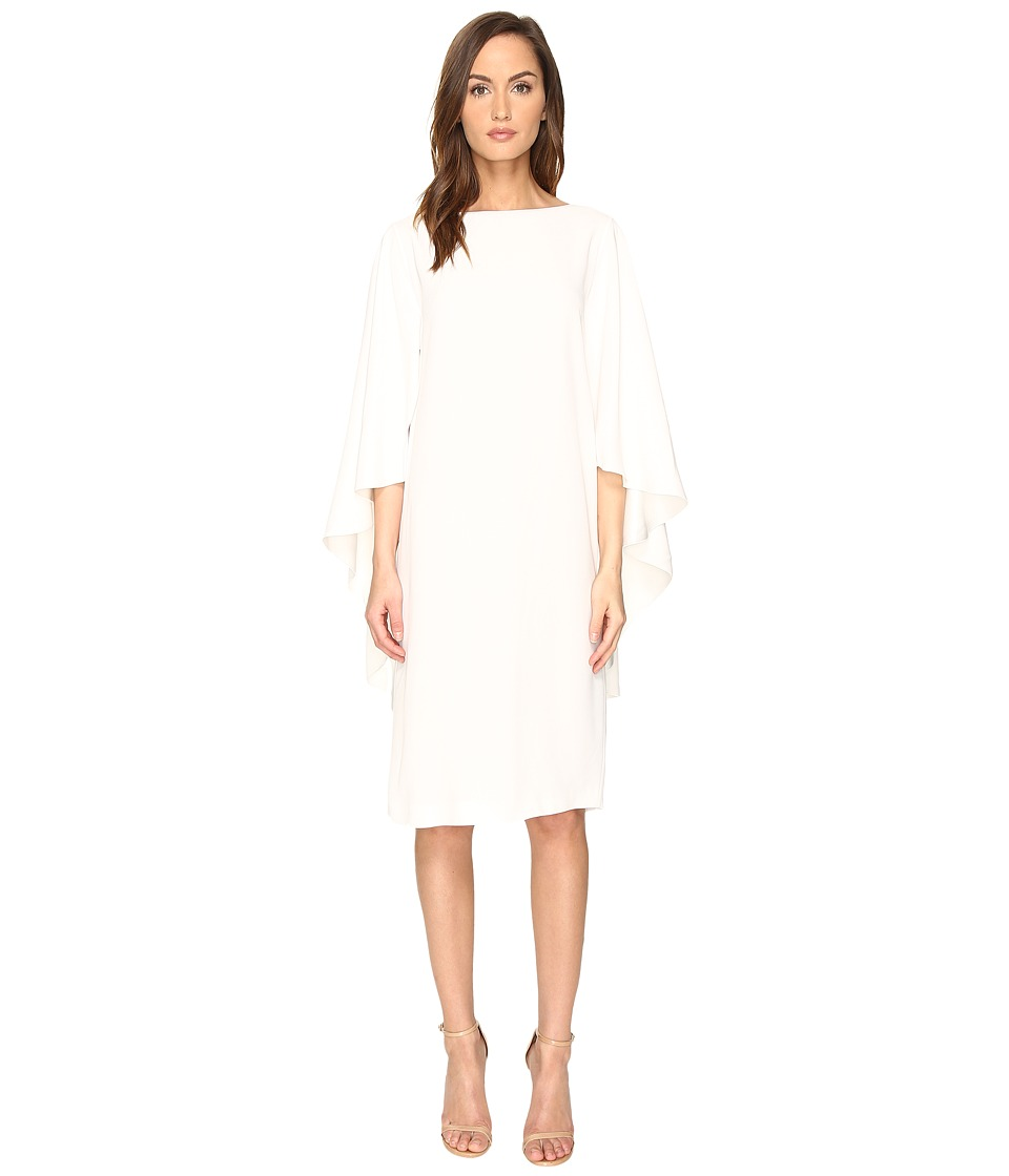 Alberta Ferretti Alberta Ferretti - Boat Neck Cape Dress