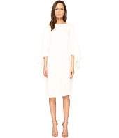 Alberta Ferretti - Boat Neck Cape Dress