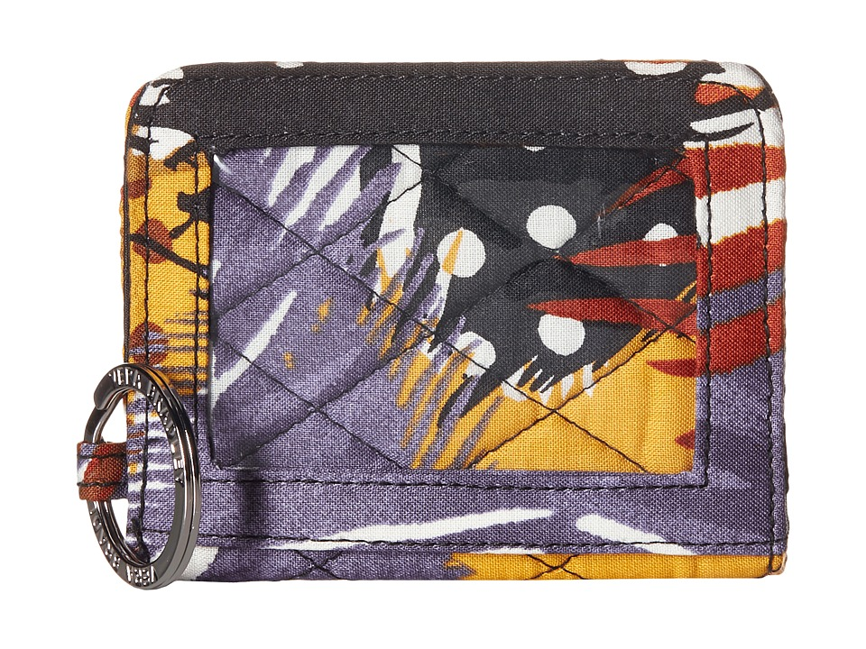Vera Bradley - Campus Double ID (Painted Feathers) Credit card Wallet