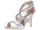 Badgley Mischka - Grammy II (Silver Metallic Suede)