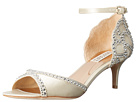 Badgley Mischka - Gillian (Ivory Satin/Suede)