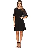 Taylor - Stretch Crepe Caplet Dress