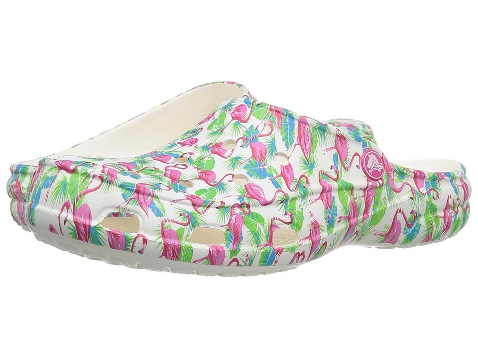 Crocs - Freesail Summer Fun Clog (Flamingo) Womens Clog/Mule Shoes