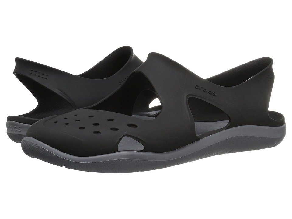Crocs - Swiftwater Wave (Black) Women's Sandals