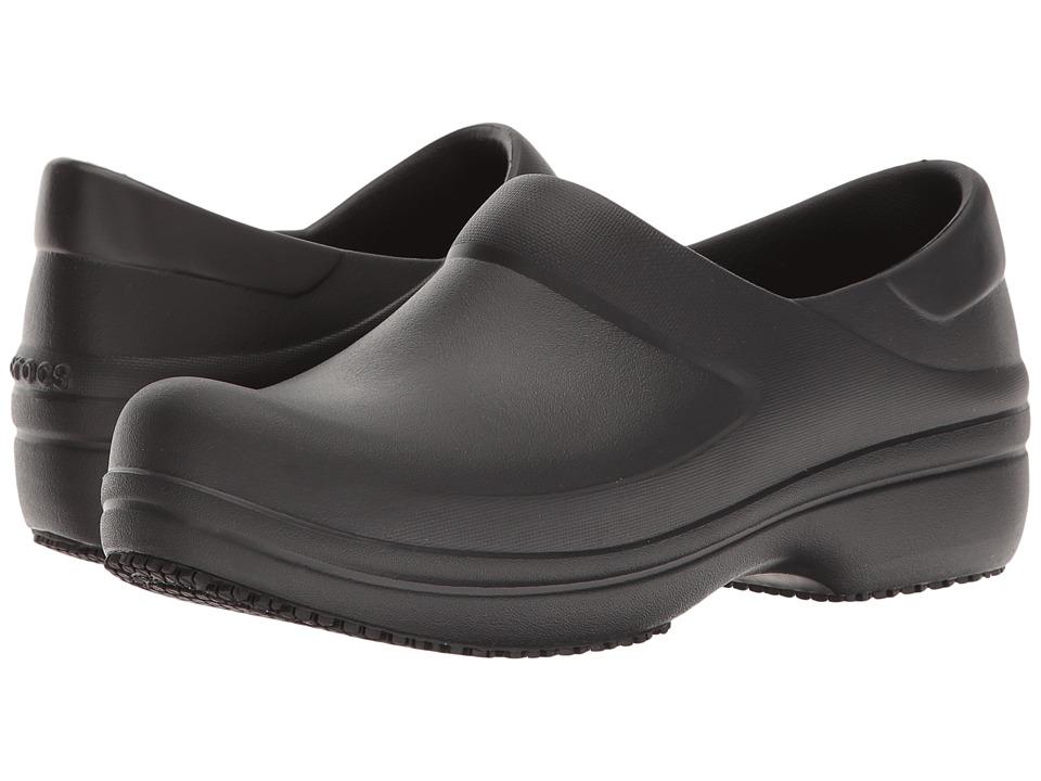 Crocs Neria Pro Clog (Black) Women's Clog/Mule Shoes