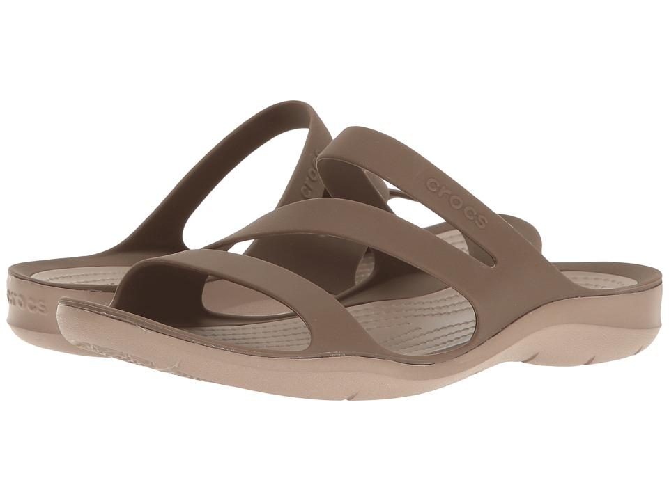 Crocs Swiftwater Sandal (Walnut) Sandals