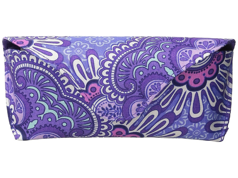 Vera Bradley - Eyeglass Case (Lilac Tapestry) Cosmetic Case