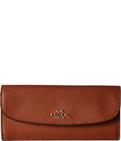 COACH - Crossgrain Leather Soft Wallet
