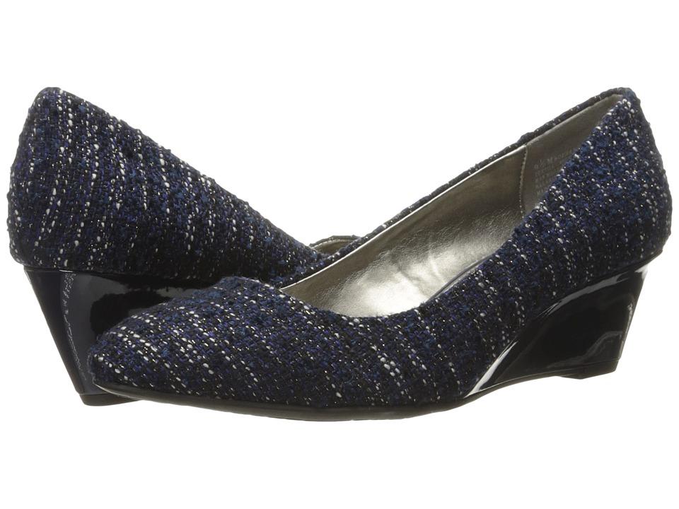 Bandolino - Franci (Navy Tweed/Gros Grain) Women
