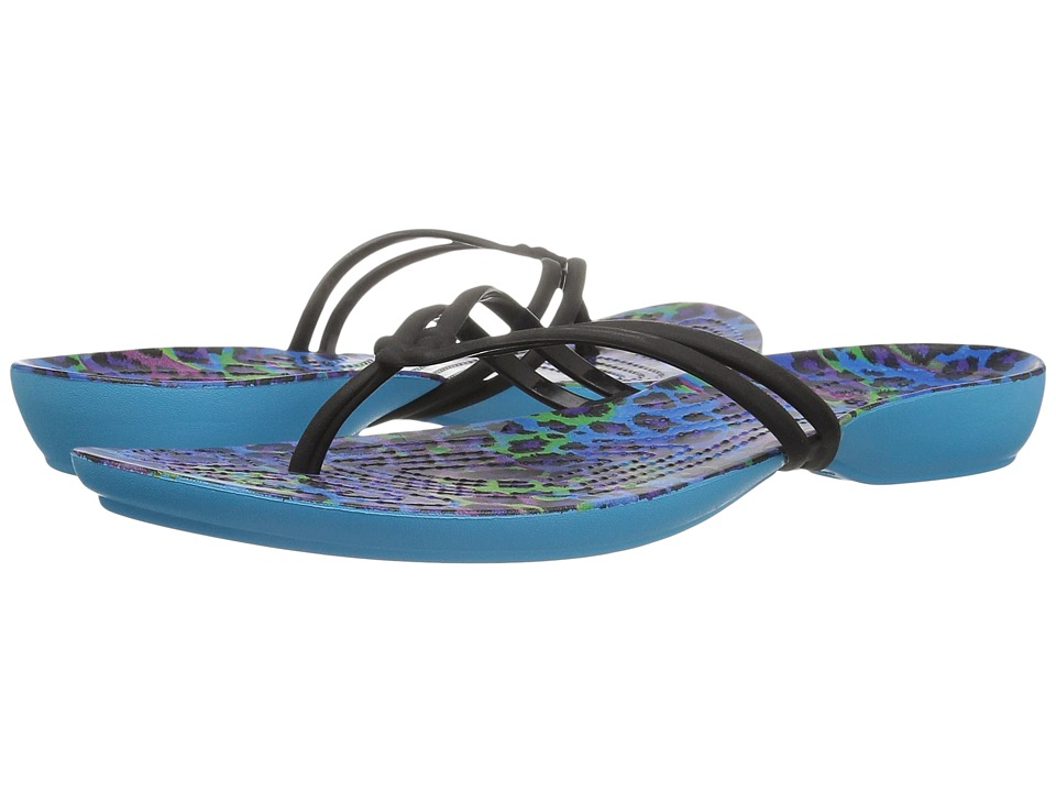 Crocs Isabella Graphic Flip (Multi/Leopard) Women