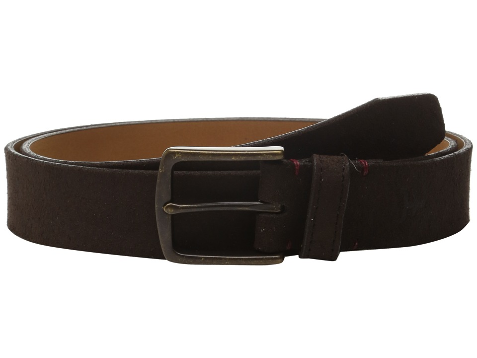 Trask Elkhorn Belt (Snuff Oil Suede) Men