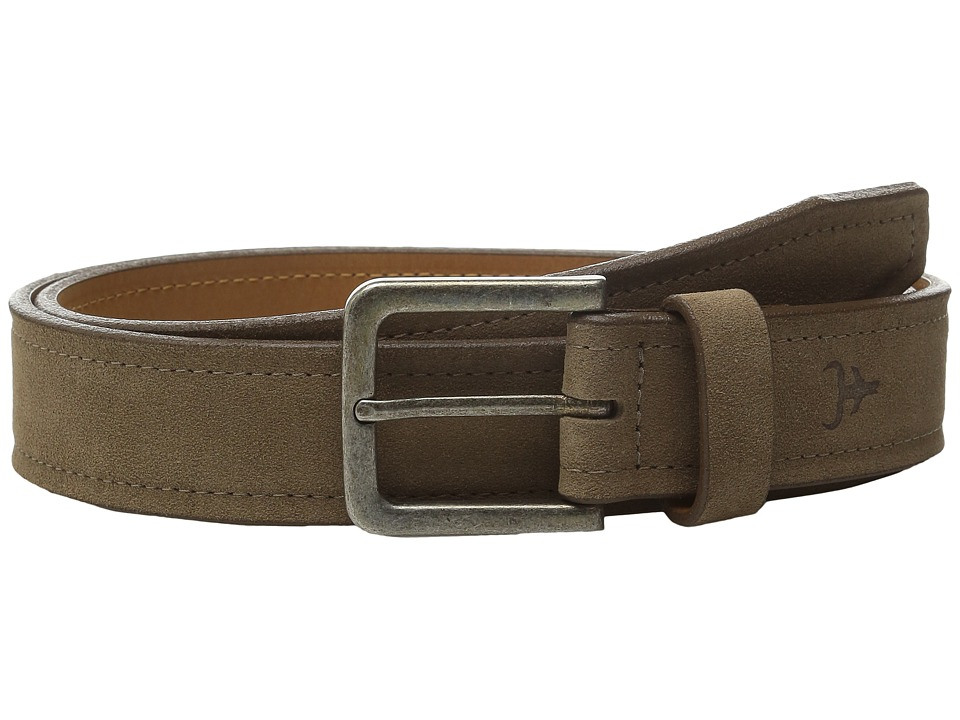 Trask Linden Belt (Snuff Suede) Men