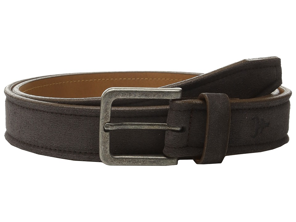 Trask Linden Belt (Gray Suede) Men