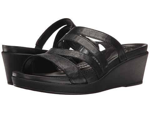 Crocs Leigh-Ann Mini Wedge Leather