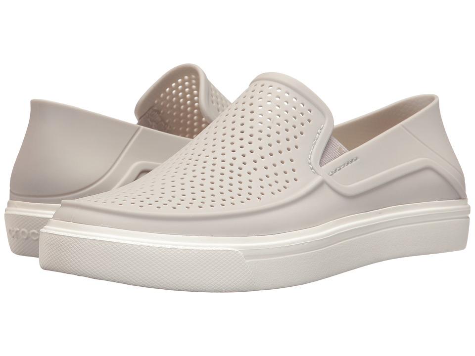 Crocs CitiLane Roka Slip-On (Pearl White) Women