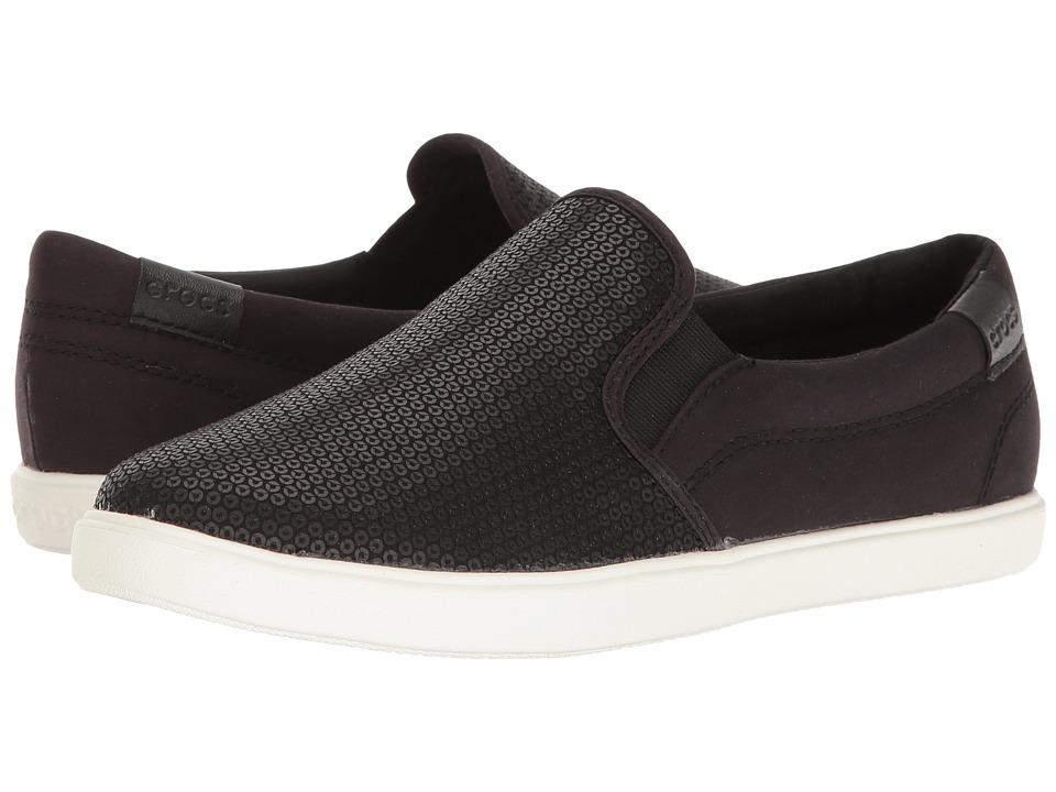 Crocs CitiLane Sequin Slip-On (Black) Women