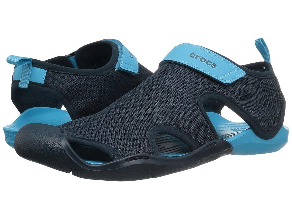 Crocs - Swiftwater Mesh Sandal (Navy) Women's Sandals