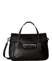 COACH - Taylor Leather Marin Flap Satchel
