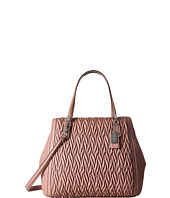 COACH - Madison Gathered Twist Leather North/South Satchel