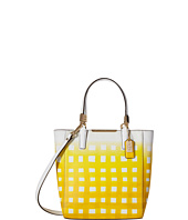 COACH - Madison Gingham Saff Mini North/South Bond Tote
