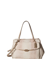 COACH - Madison Embossed Lizard Large Madeline East/West Satchel