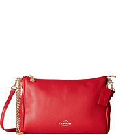 COACH - Pebbled Leather Carrie Crossbody