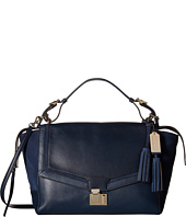 COACH - Legacy Pinnacle Leather Nubuck Lock Satchel