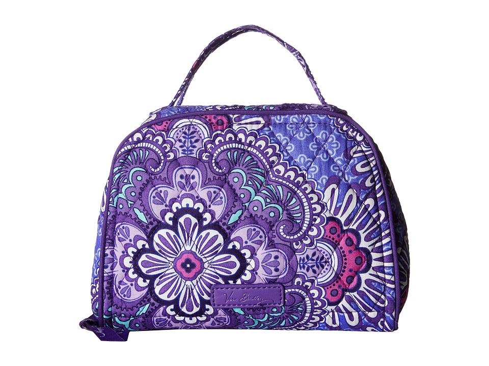 Vera Bradley - Travel Jewelry Organizer (Lilac Tapestry) Travel Pouch