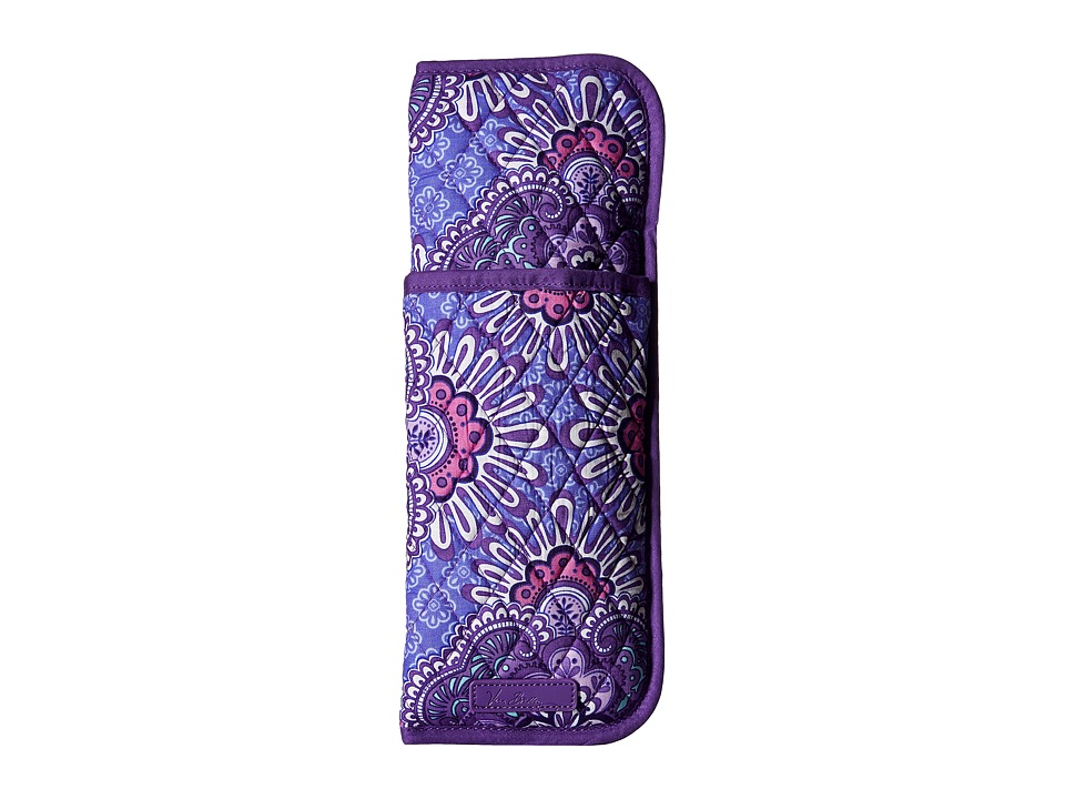 Vera Bradley - Curling Flat Iron Cover (Lilac Tapestry) Handbags