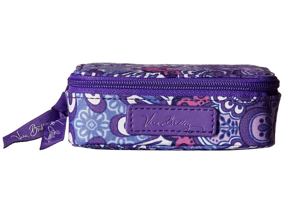Vera Bradley - Travel Pill Case (Lilac Tapestry) Travel Pouch