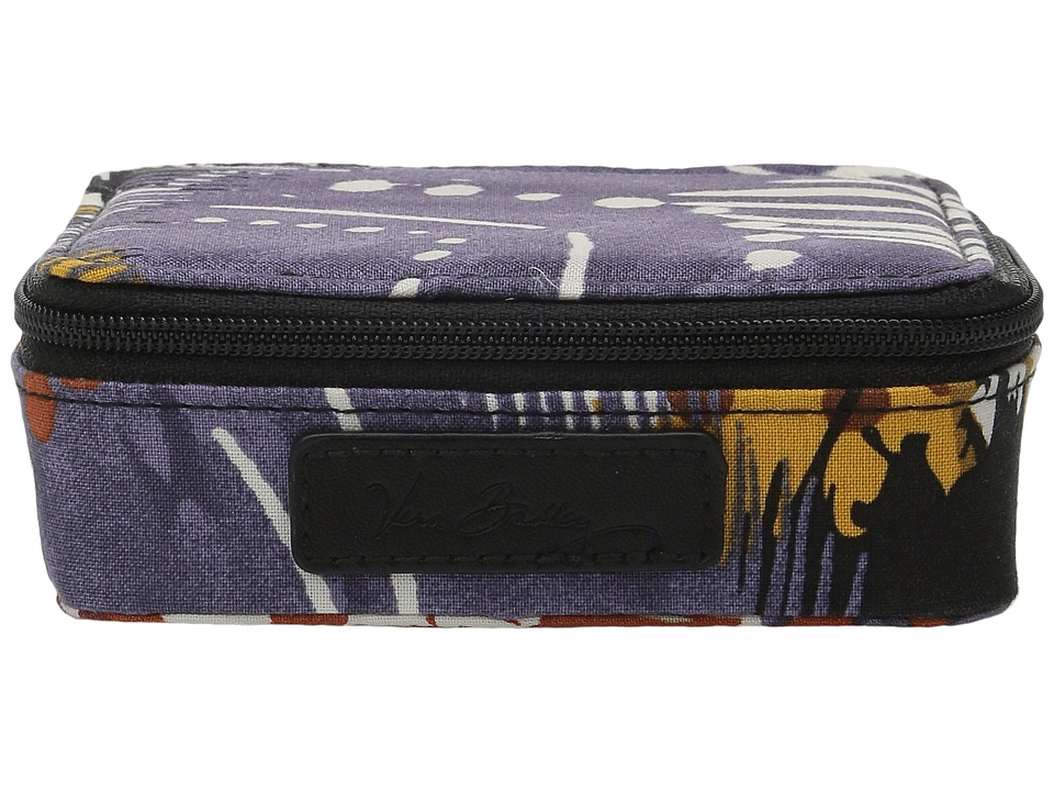 Vera Bradley - Travel Pill Case (Painted Feathers) Travel Pouch