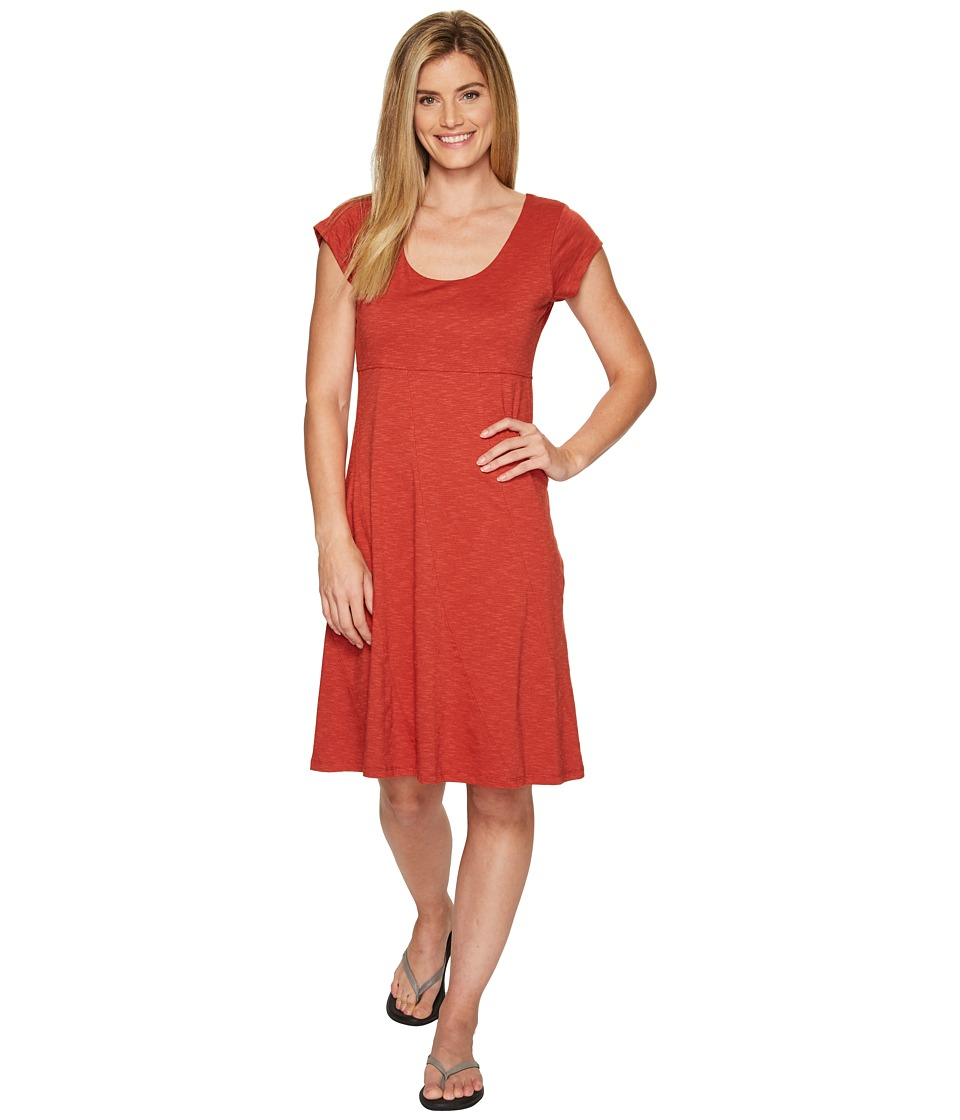 Toad&Co Nena Dress (Red Clay) Women