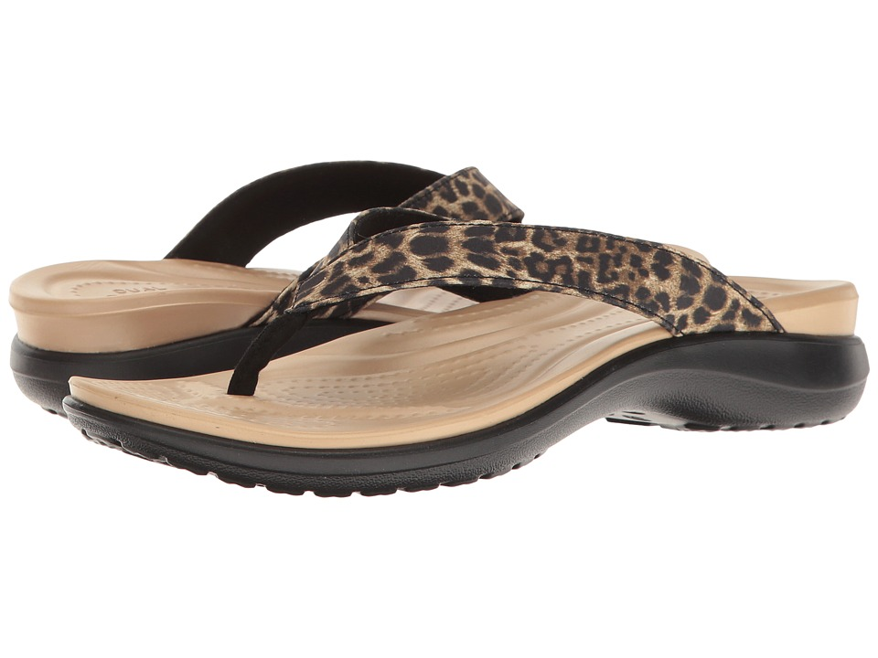 Crocs Capri V Graphic (Leopard) Women