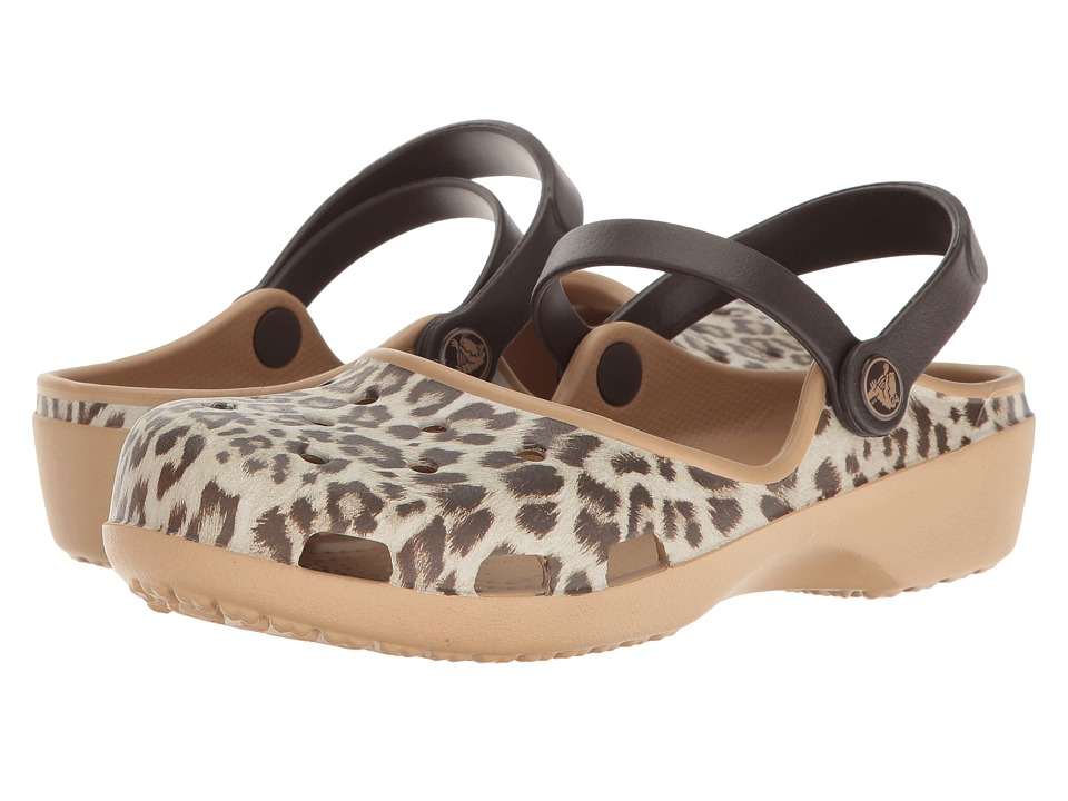 Crocs Karin Graphic Clog (Leopard) Women