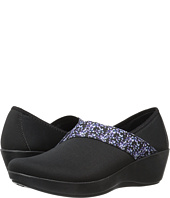 Crocs - Busy Day Asymmetrical Graphic Wedge