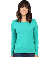 U.S. POLO ASSN. - Hi-Lo Hem Pullover Sweater