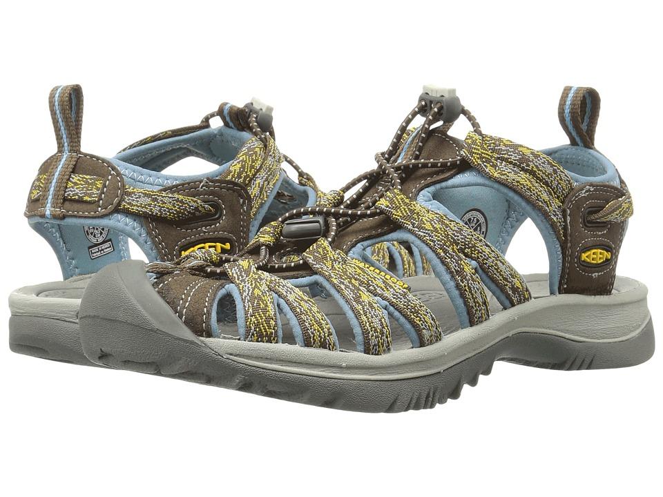 Keen Whisper (Cascade/Stone Blue) Sandals
