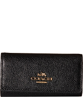 COACH - Crossgrain 6 Ring Key Case