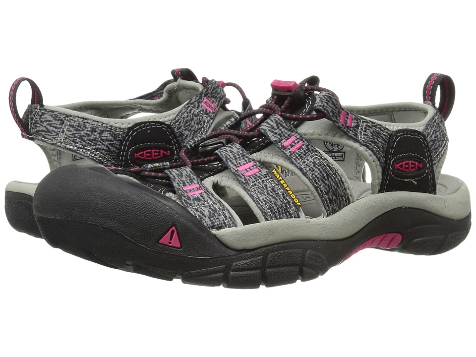 Keen Newport H2 (Black/Bright Rose) Women